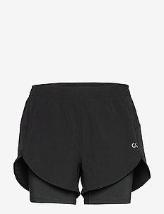 WOVEN SHORT - training shorts - ck black