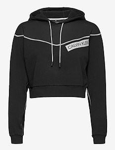 HOODY - huvtröjor - ck black