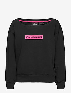 PULLOVER - bluzy i swetry - ck black