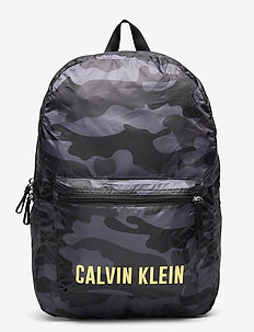 BACKPACK 45cm - unisex - black camo