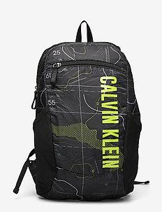 38CM BACKPACK - sportsbagger - elevation print black