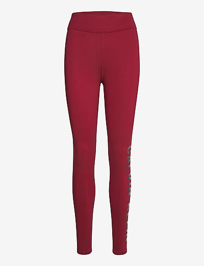 WO - FULL LENGTH TIGHT - running & training tights - rouge