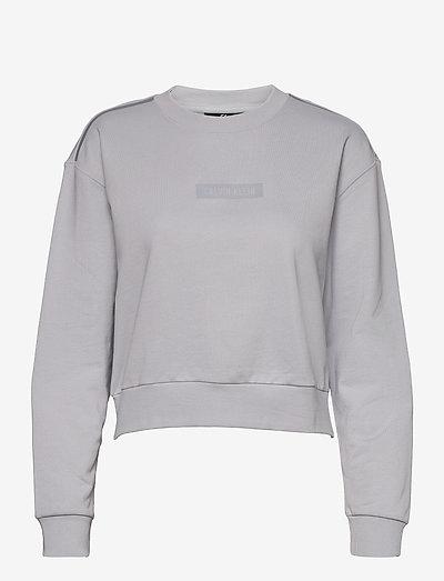 PW - PULLOVER - sweatshirts - antique grey