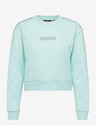 PW - PULLOVER - sweatshirts - misty aqua