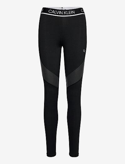 WO - Full Length Tight - running & training tights - ck black
