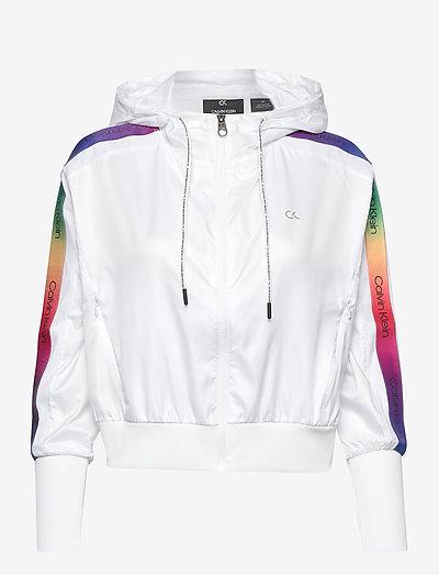 PW - Hooded Jacket - hoodies - bright white