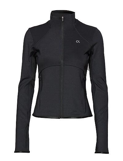 Windjacket Sweat-shirt Pullover Schwarz CALVIN KLEIN PERFORMANCE