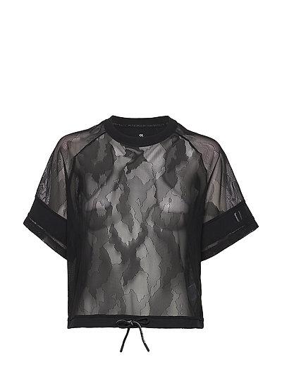 Short Sleeve T-Shirt T-Shirt Top Schwarz CALVIN KLEIN PERFORMANCE
