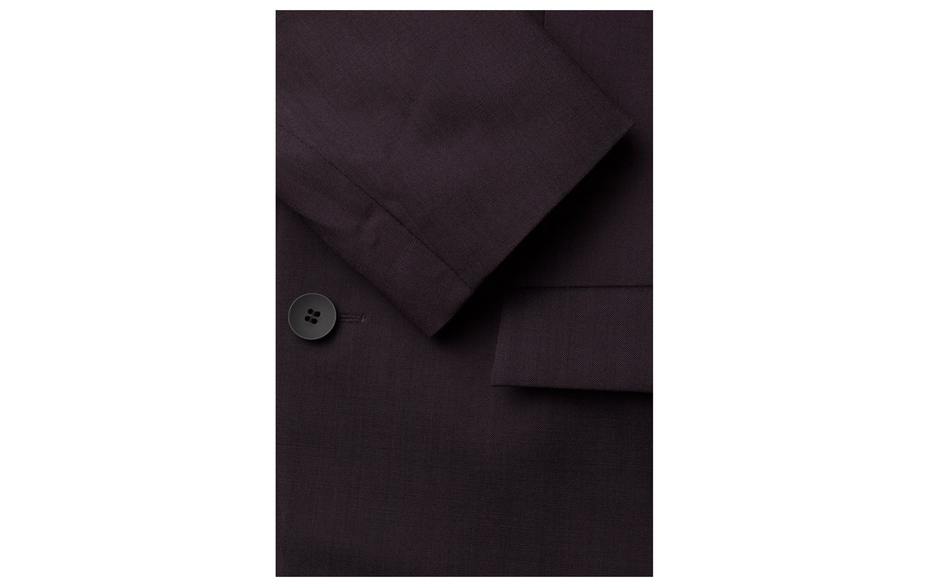 Klein Bill Plum Wool b Perfect Stretch Suiting Calvin 4wCqHw