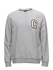 KAMUS  C BADGE - LIGHT GREY HEATHER