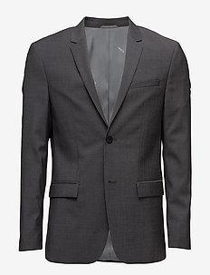TATE-BM - blazers à boutonnage simple - rock grey