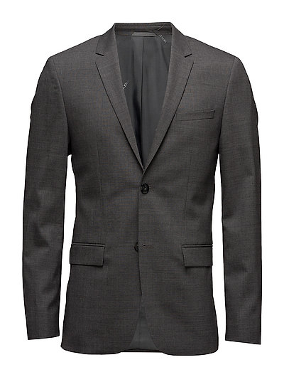 TATE-BM STRETCH WOOL - MEDIUM GREY