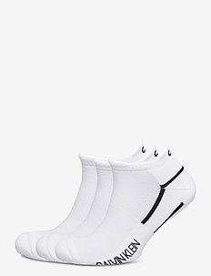 CK MEN LINER 3P PERFORMANCE SPORT - ankelsokker - white