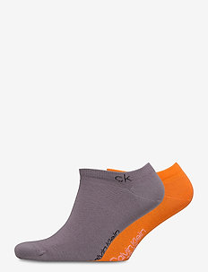 CK MEN LINER 2P CASUAL COLIN - ankelsokker - grey combo