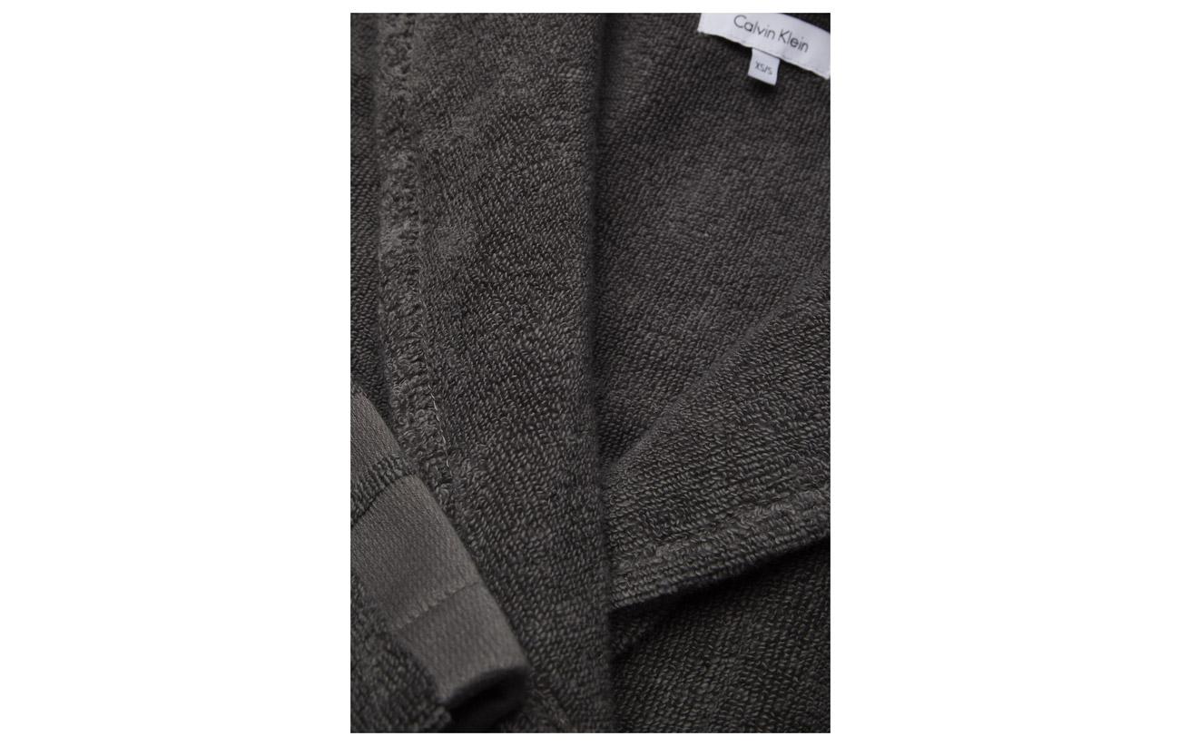 Calvin Klein White 100 Coton Robe rrzHxqwdO
