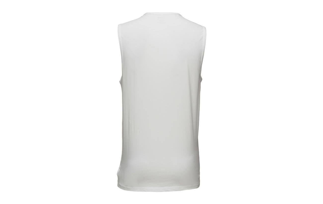 Calvin Tank Muscle White Klein Calvin Klein ZWnqT1Oc