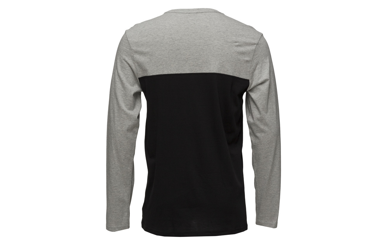 Heather L s Neck Calvin Crew Klein Grey fw54qY