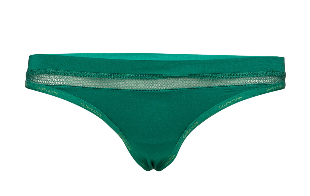 Elastane Klein 81 19 Thong Simmer Green Calvin Polyamide UaxpwxCq