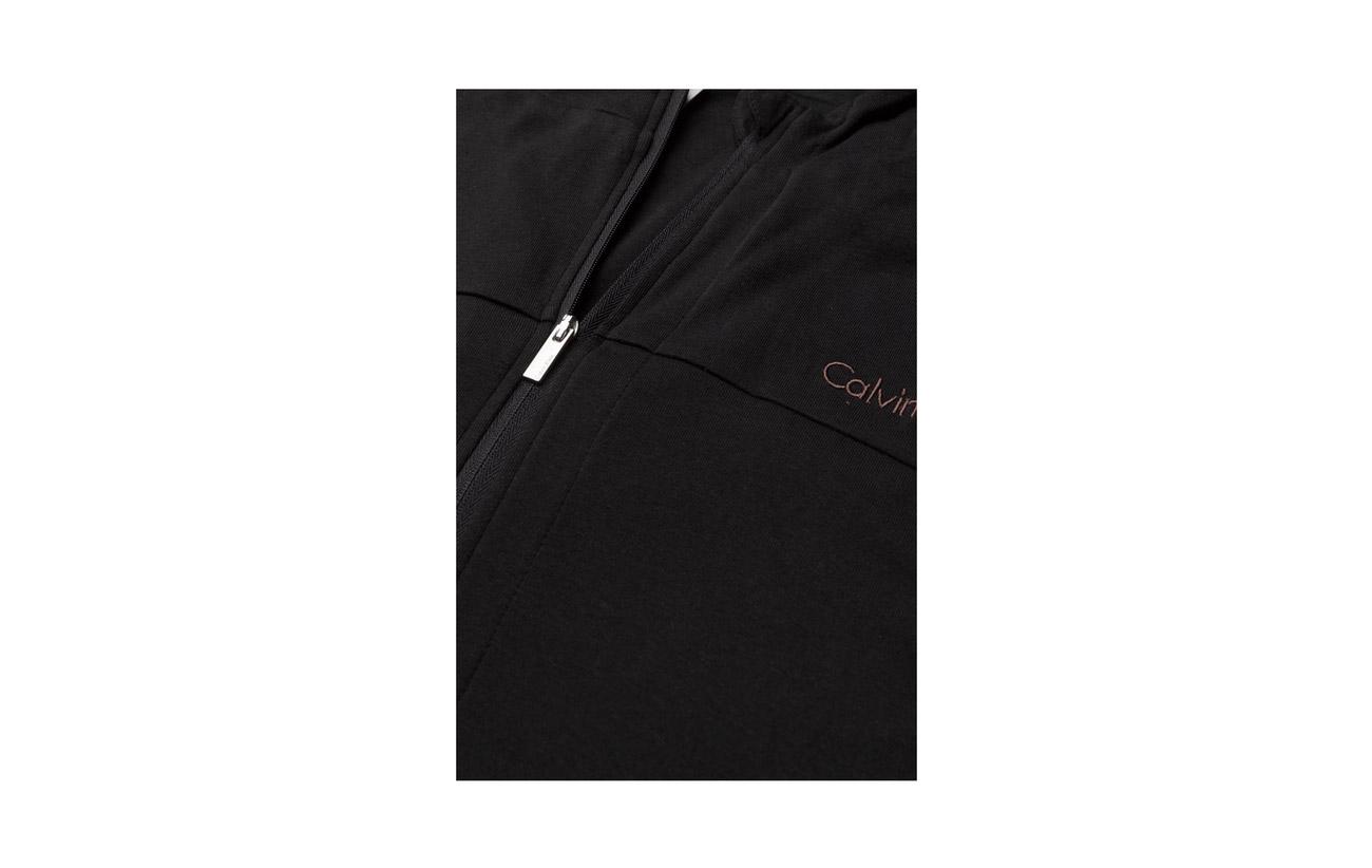 39 cape Elastane Full Zip Coton 3 Klein Calvin 58 Modale Black Hoodie q7Ix6RC8w