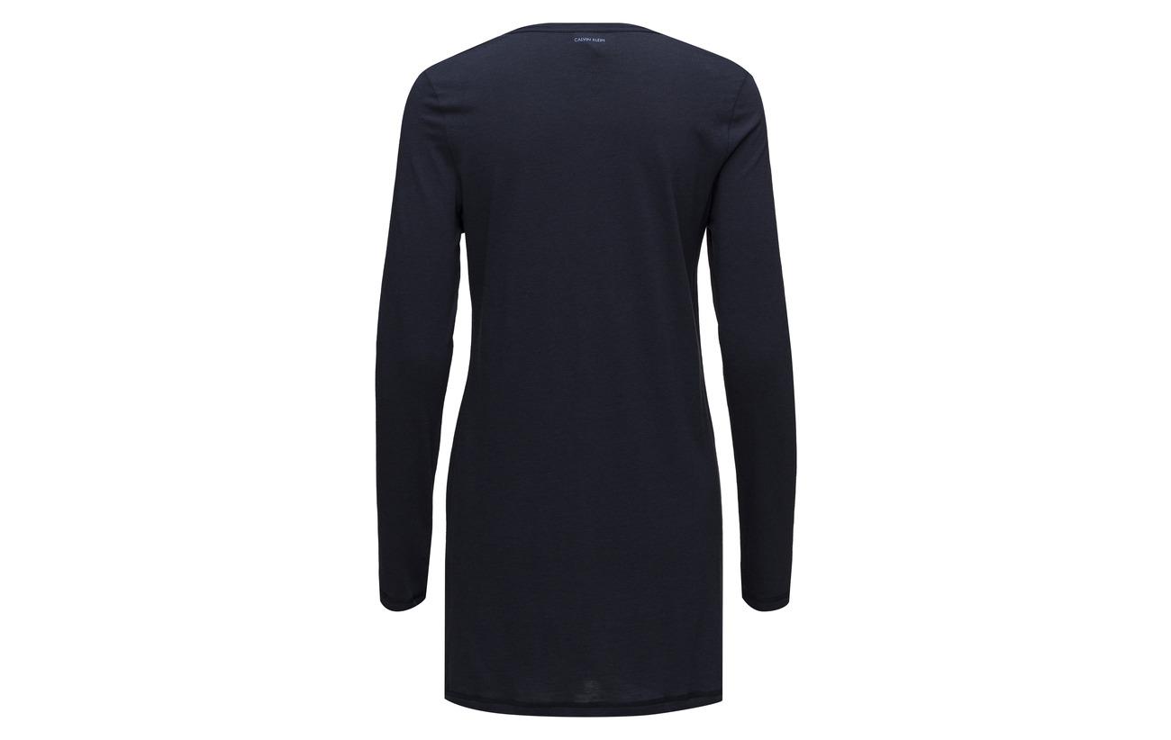 Polyester Coton Nightshir L Shoreline Neck 60 Viscose 20 Polyester s Klein Calvin V x8w6qAnO