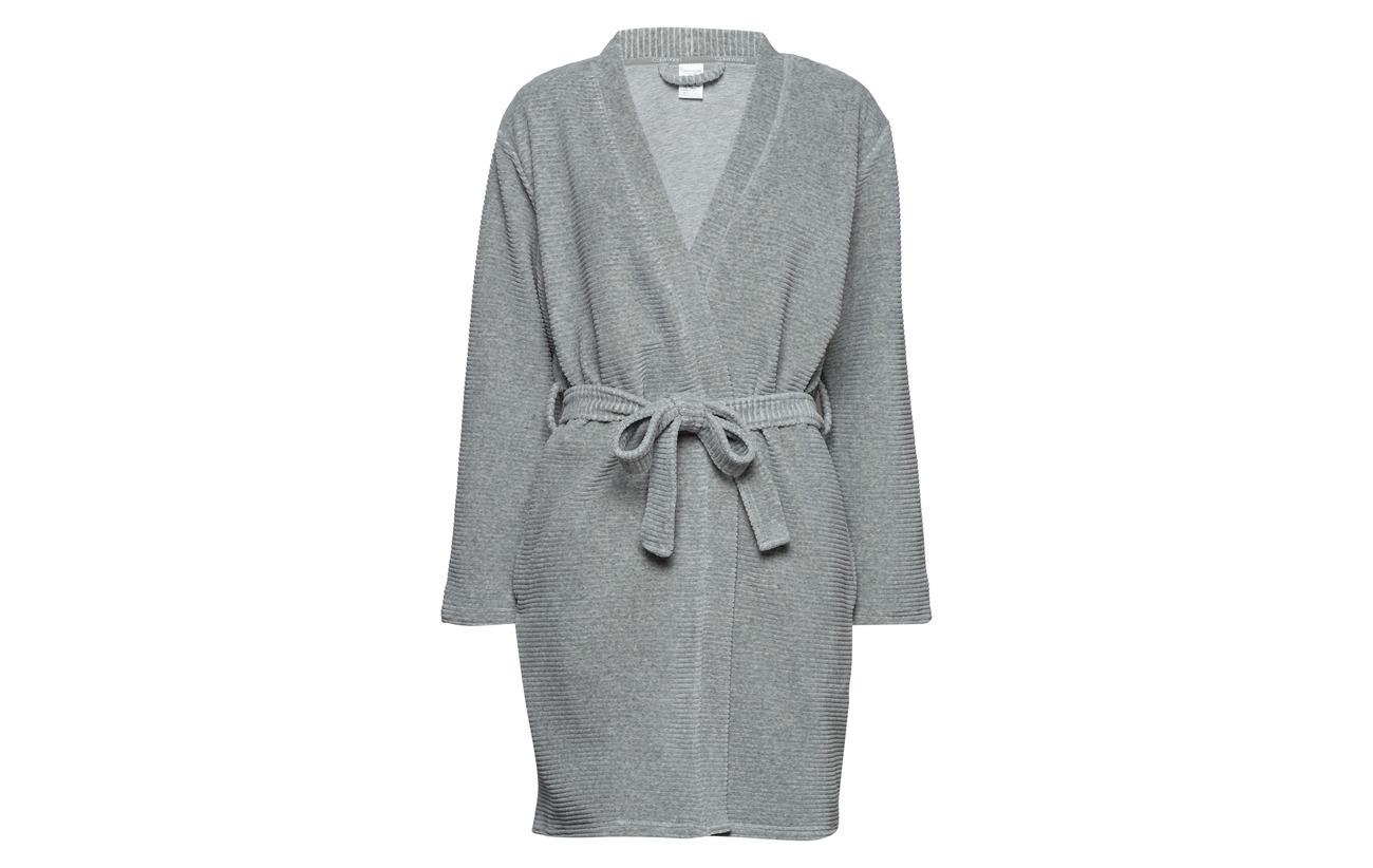 Calvin Grey Klein Coton 2 72 Robe Elastane Polyester Heather Polyester 26 qrqgA