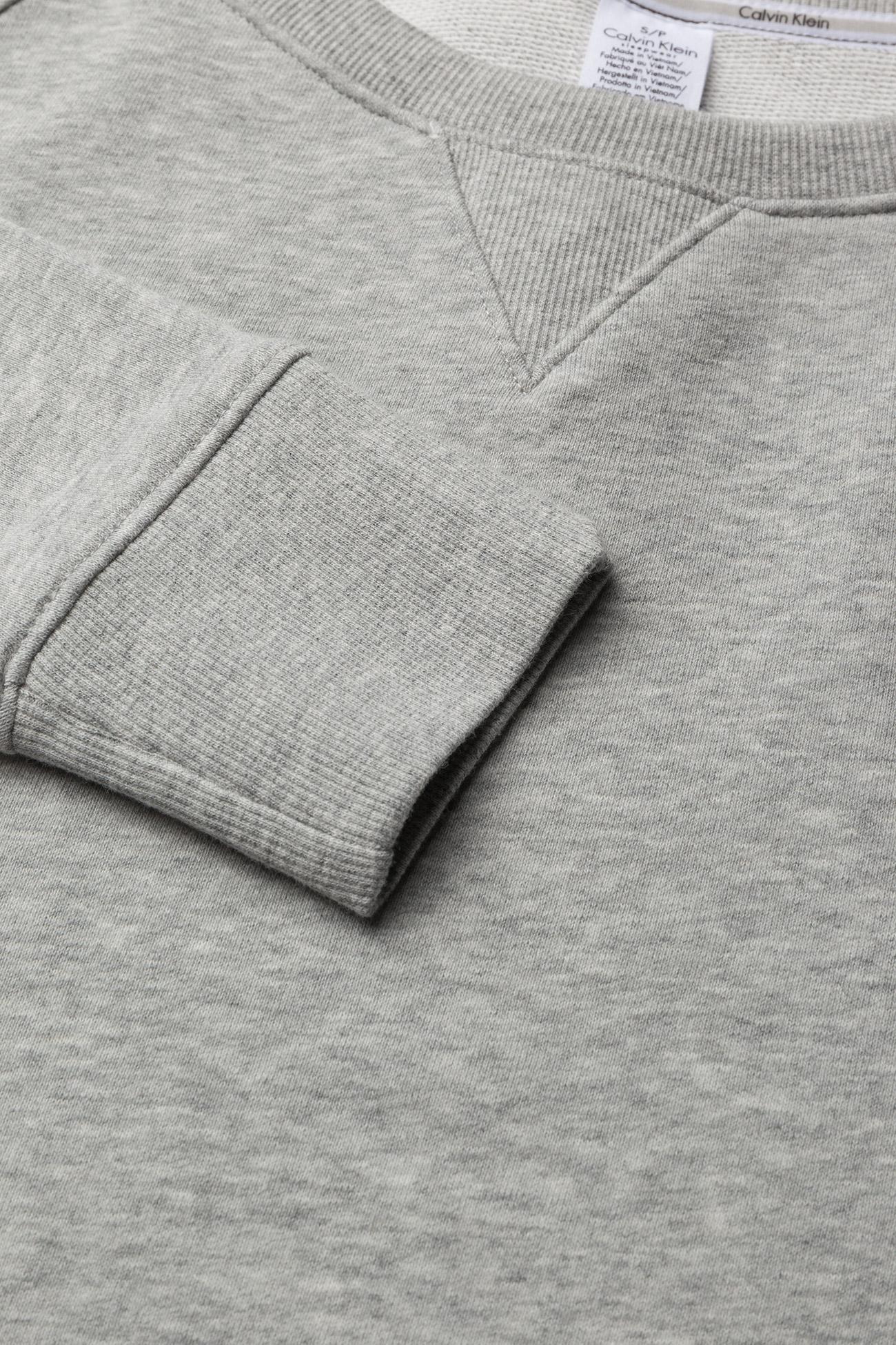 Calvin Klein - TOP SWEATSHIRT LONG SLEEVE - overdeler - grey heather - 1