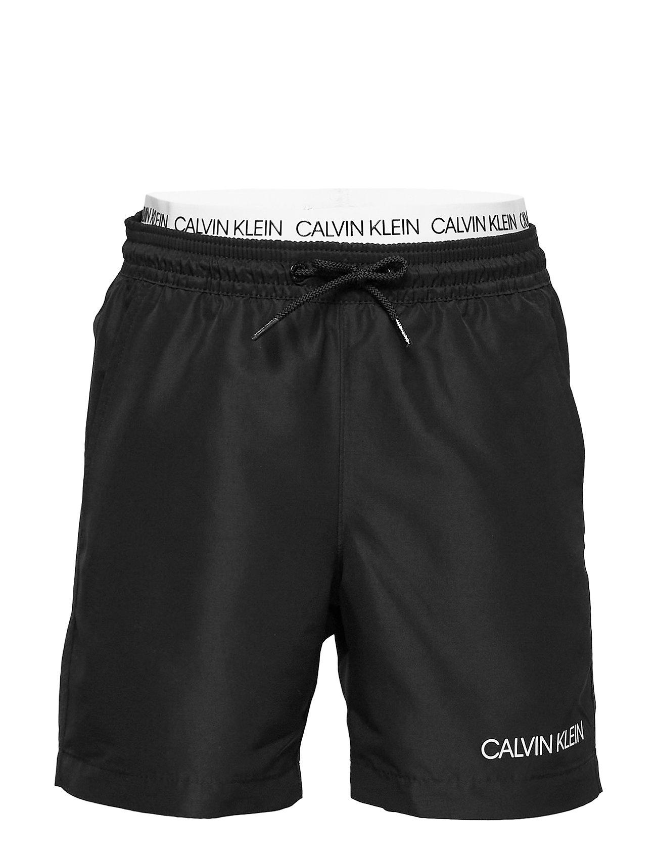Calvin Klein MEDIUM DOUBLE WAISTBAND - PVH BLACK