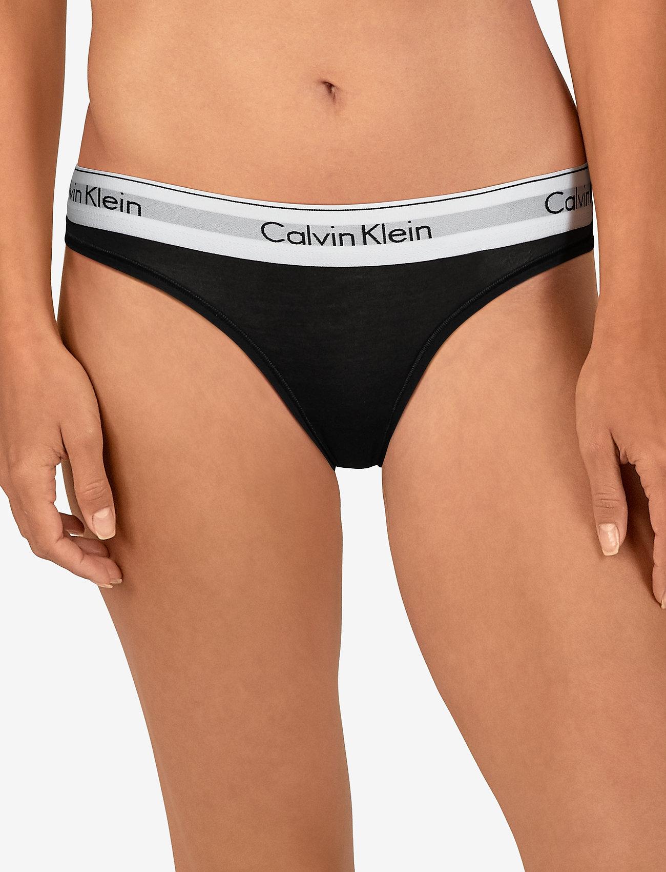 Calvin Klein THONG - BLACK