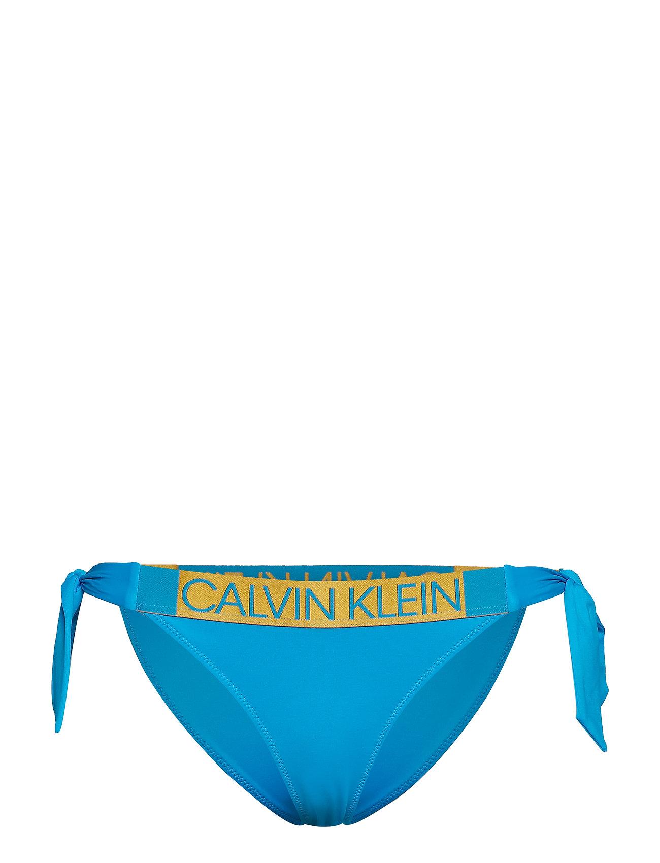 Calvin Klein CLASSIC SIDE TIE BIK - MALDIVE BLUE