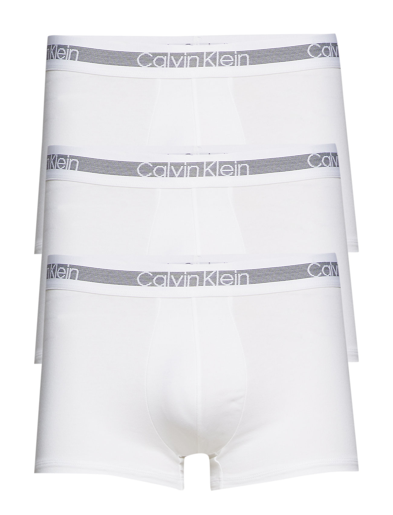 Calvin Klein TRUNK 3PK - WHITE