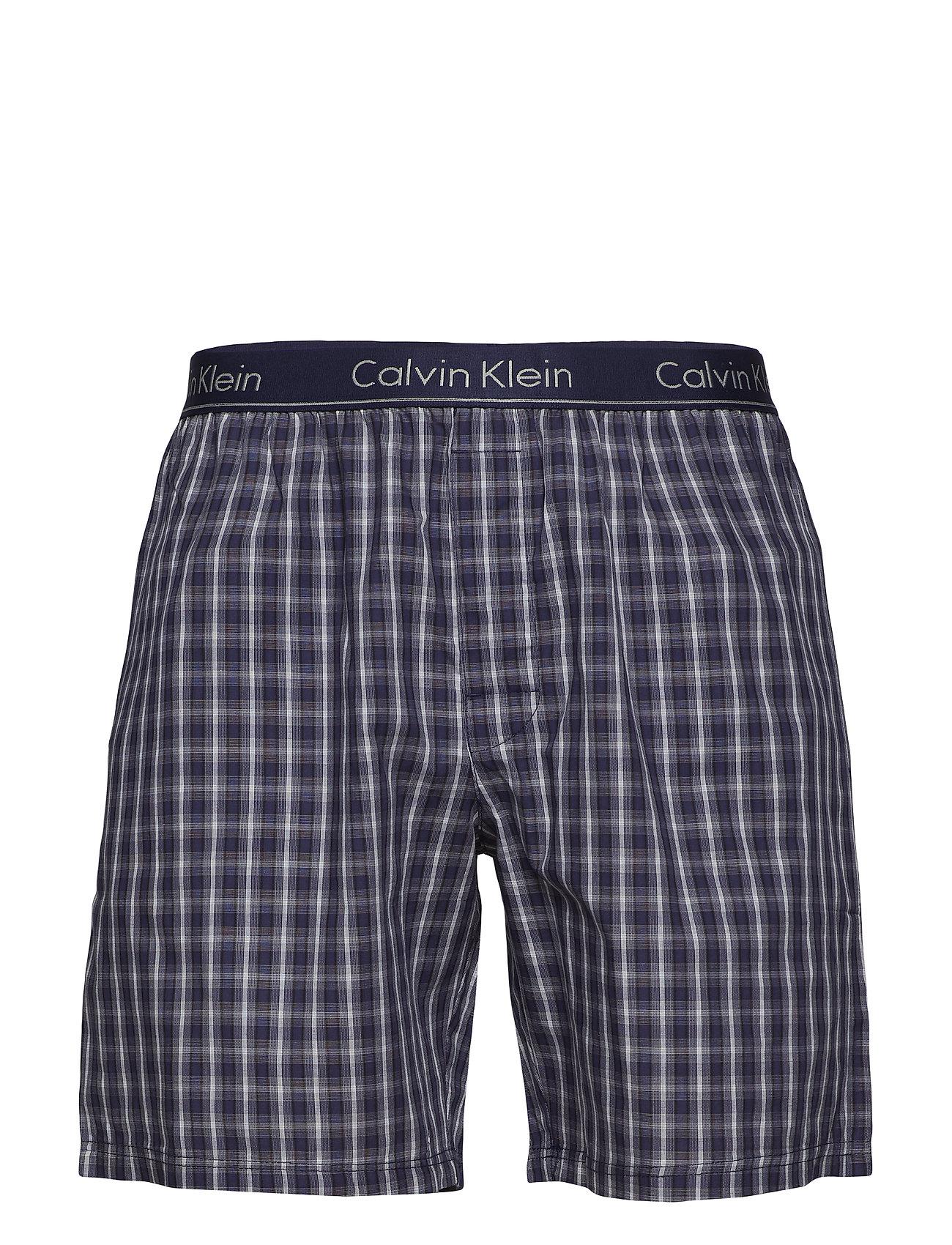 5424cd92758 B NAVY TOP/ CLARK PLAID BOLD N Calvin Klein S/S Short Set pyjamas ...