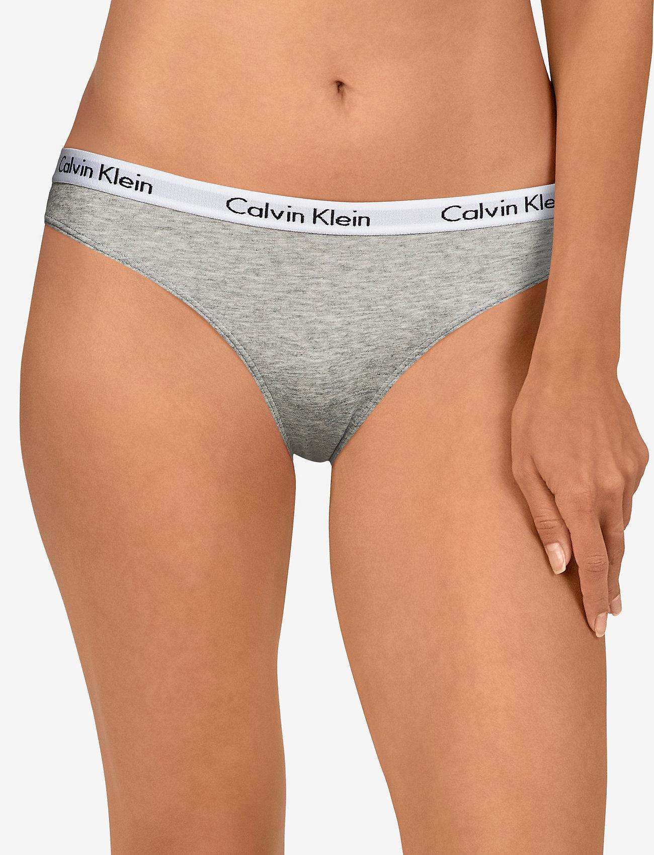 Calvin Klein BIKINI 3PK - POMELO/POLAR LIGHTS/GREY