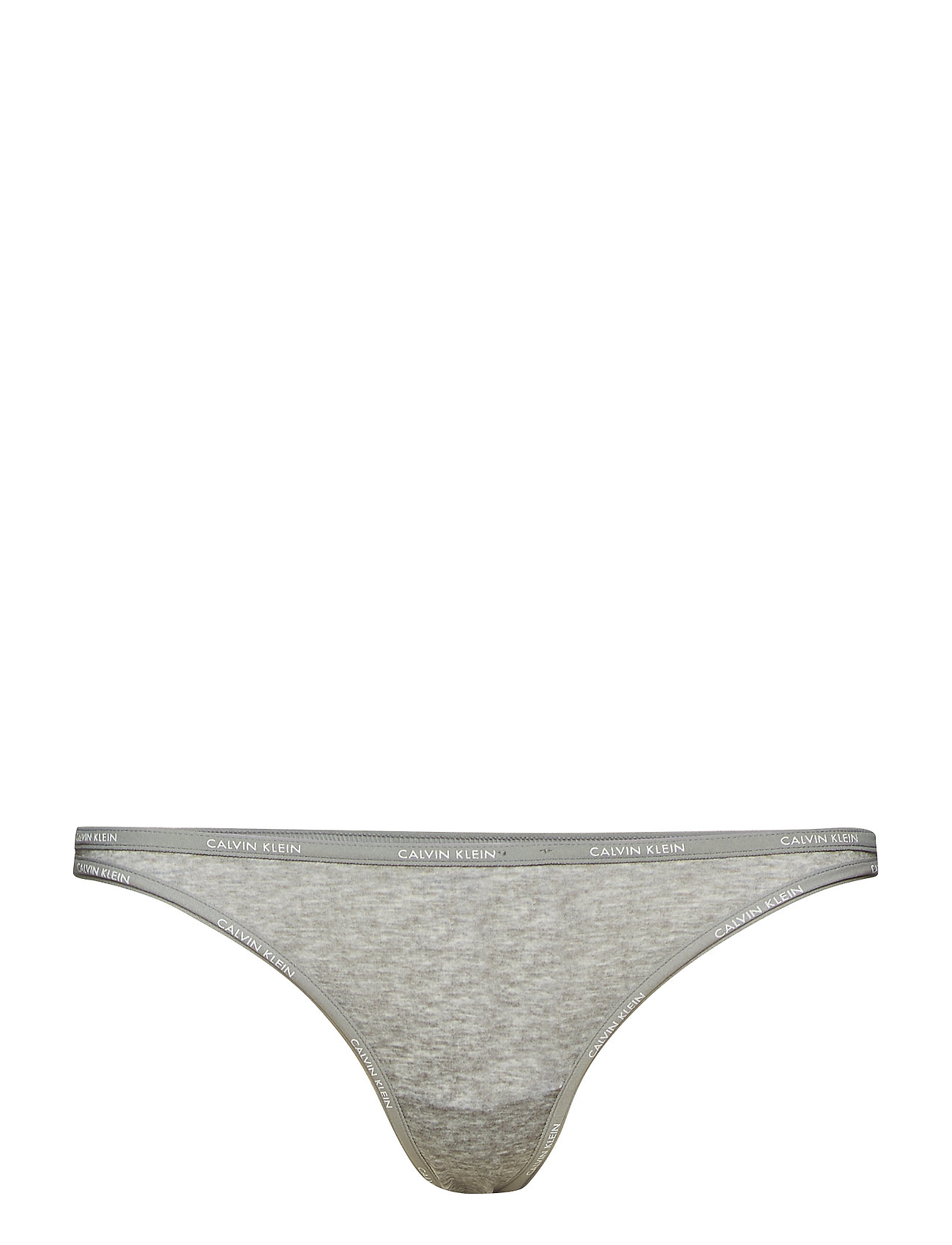 Calvin Klein STRING THONG - PRINTED GREY HEATHER