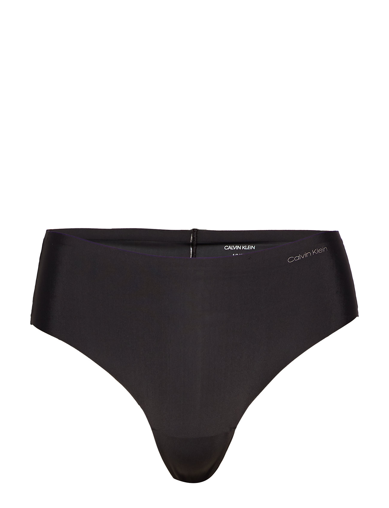 Calvin Klein HIGH WAIST THONG - BLACK