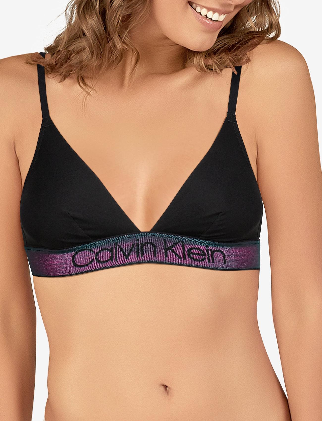 Calvin Klein UNLINED TRIANGLE - BLACK