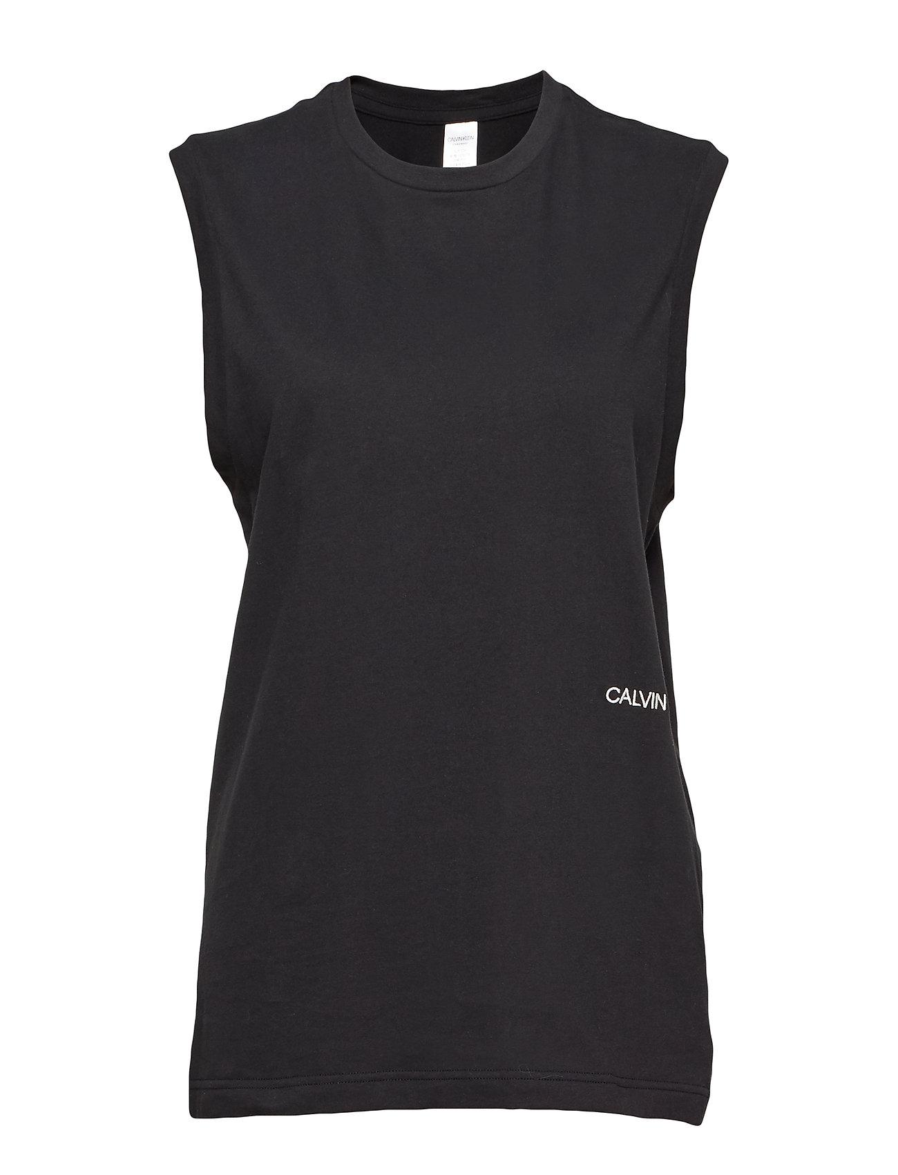 Calvin Klein MUSCLE TANK 2PK - BLACK