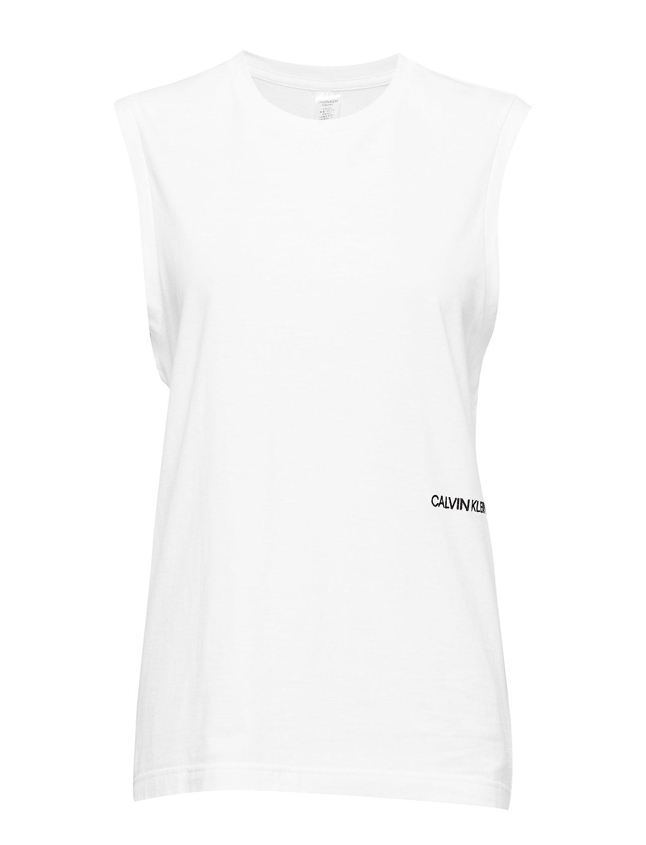 Calvin Klein MUSCLE TANK 2PK - WHITE