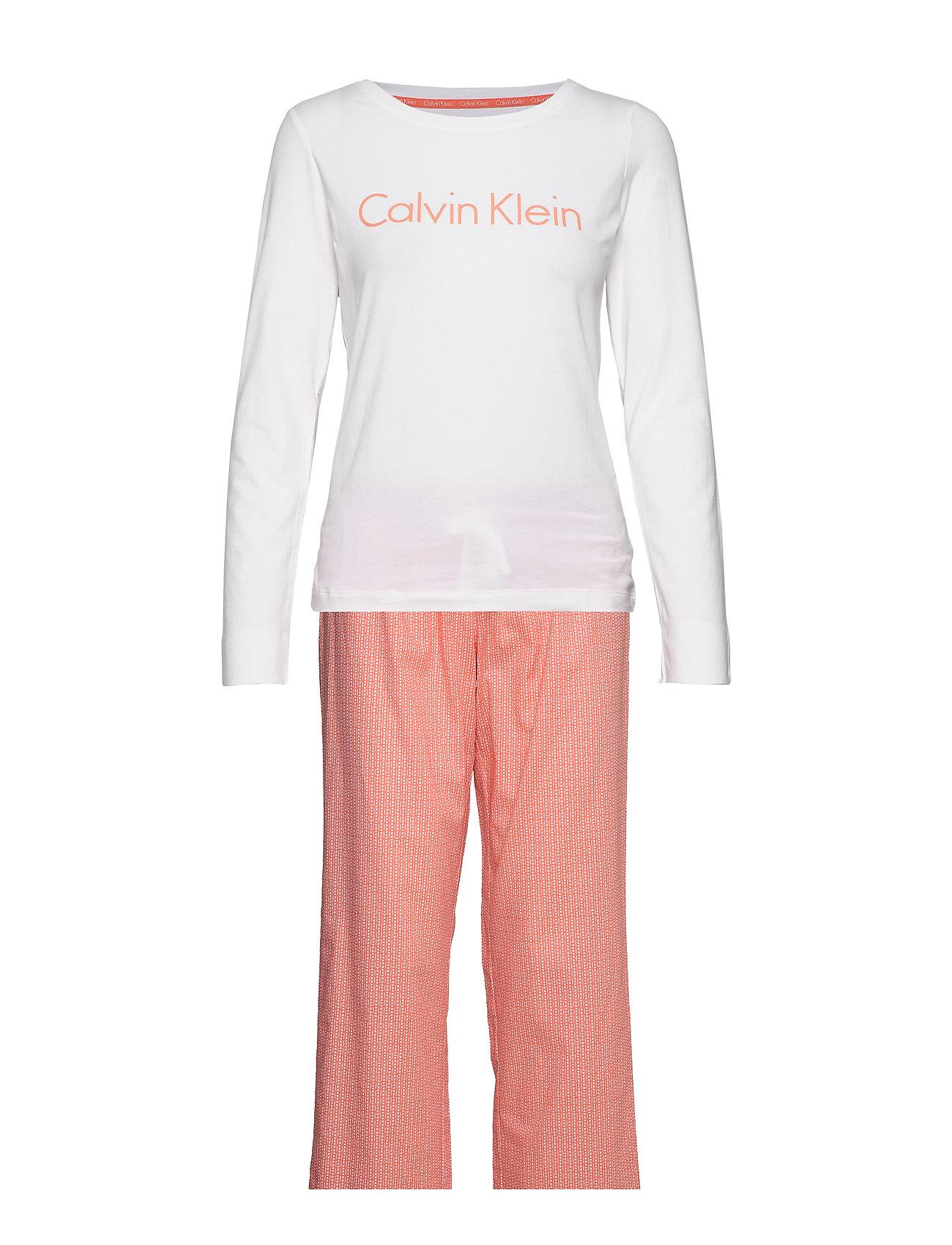 Calvin Klein L/S PANT SET - TRIPLE DOT PRINT