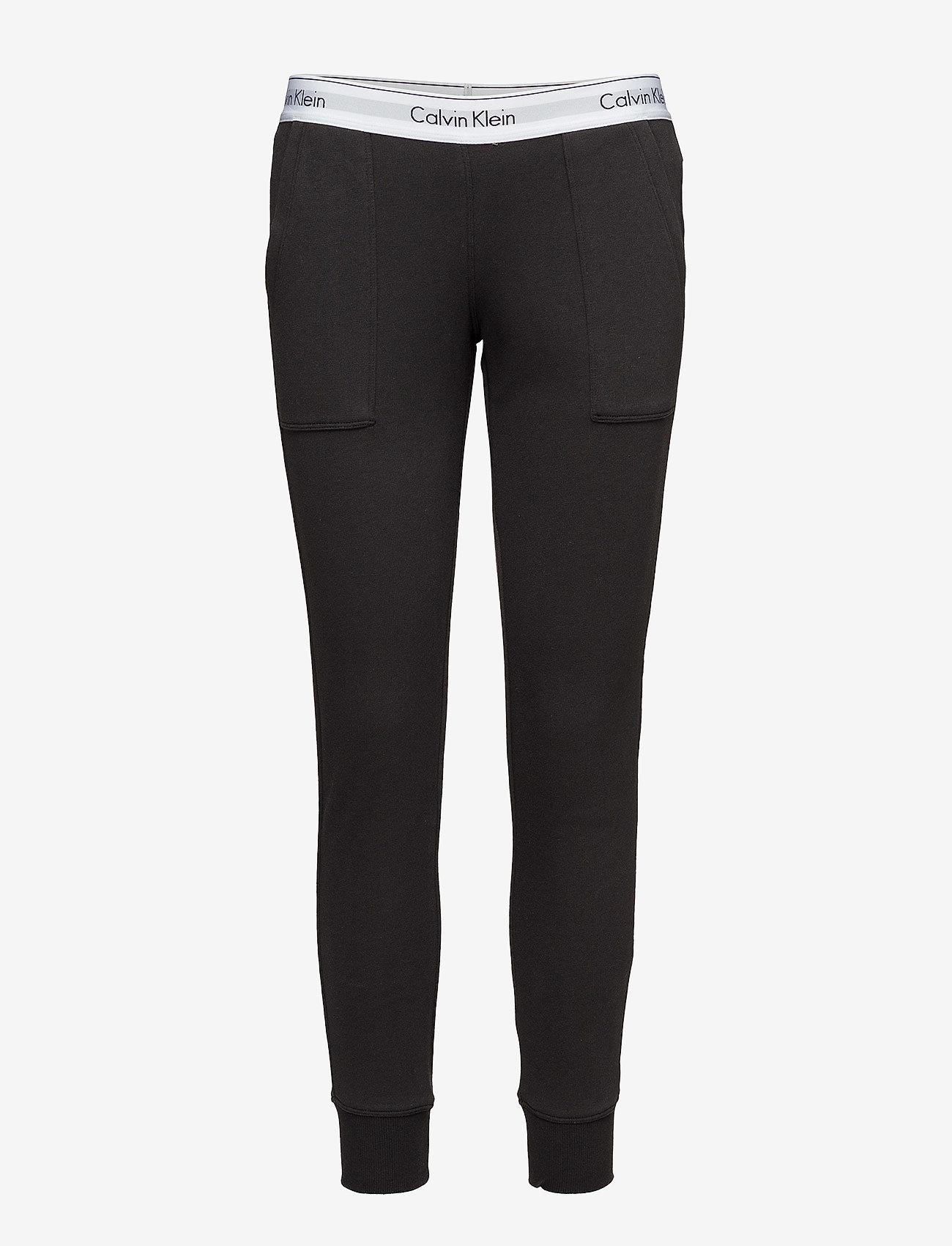 Calvin Klein - BOTTOM PANT JOGGER - doły - black - 1