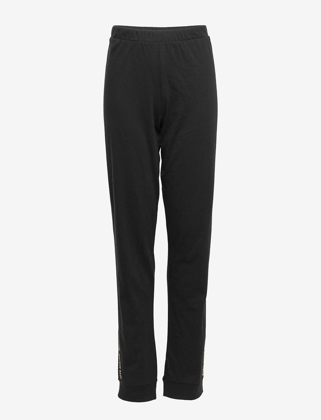 Calvin Klein - KNIT PJ SET (SS+CUFFED PANT) - sæt - pvh black - 4