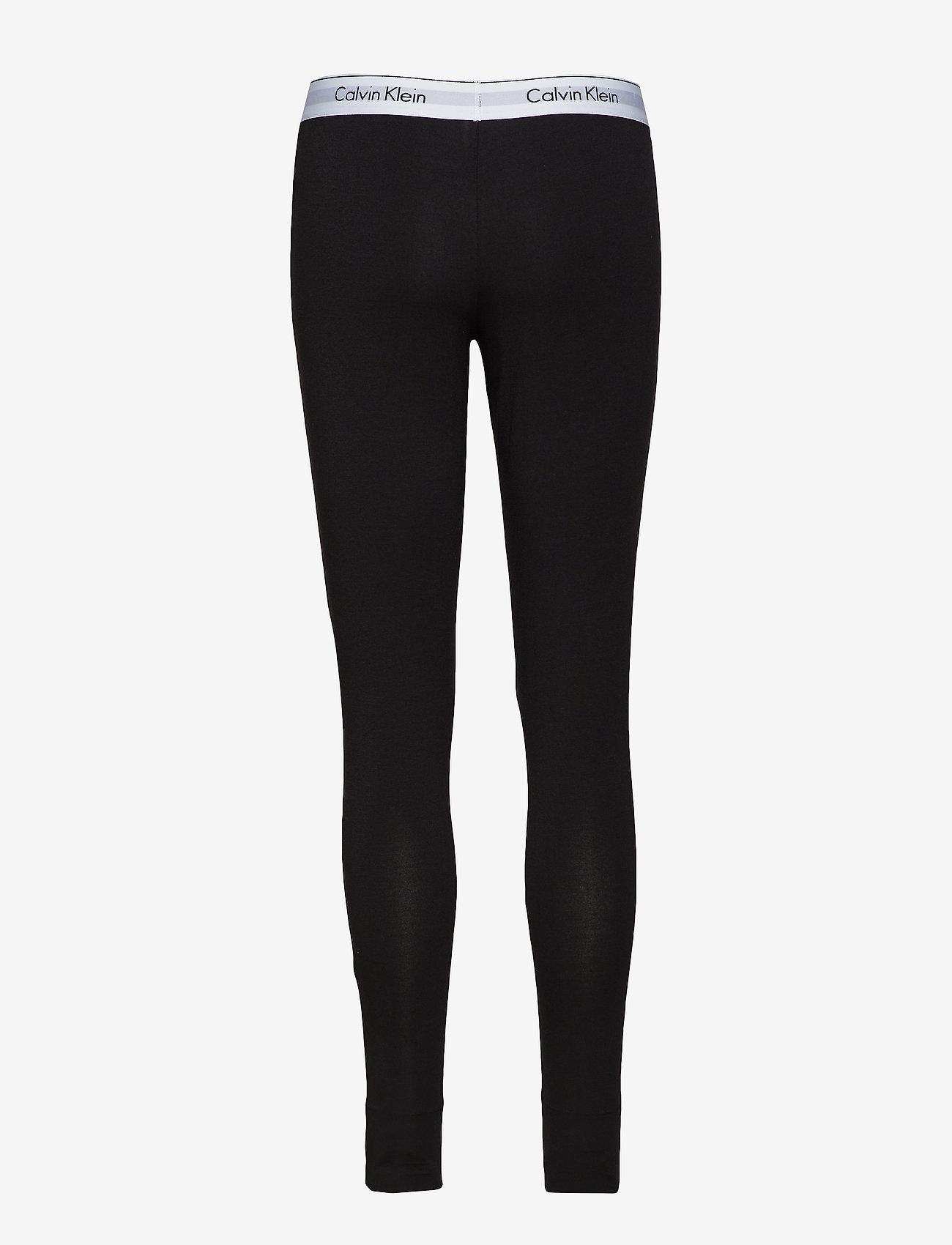 Calvin Klein - LEGGING PANT - apakšējais apģērbs - black - 1