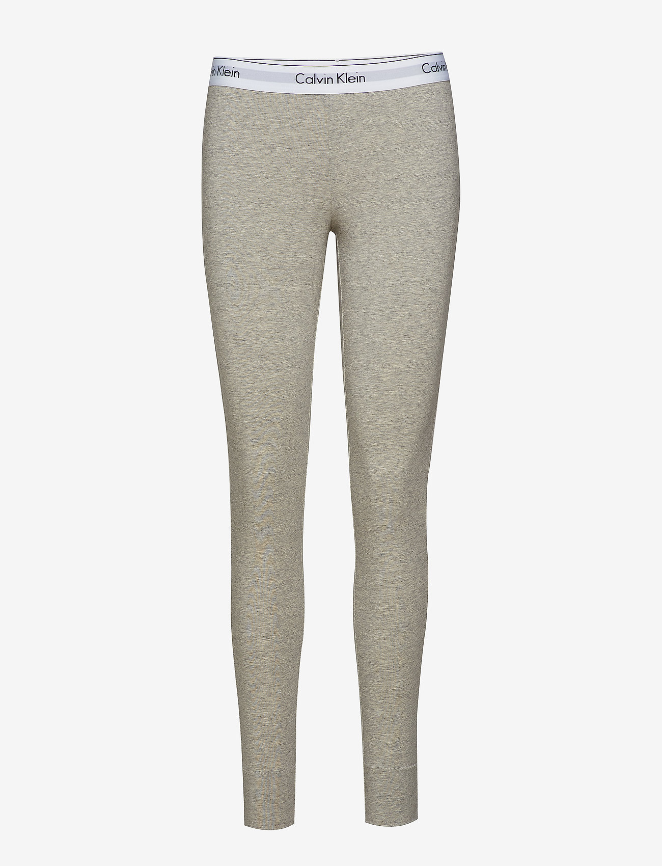 Calvin Klein - LEGGING PANT - doły - grey heather - 0