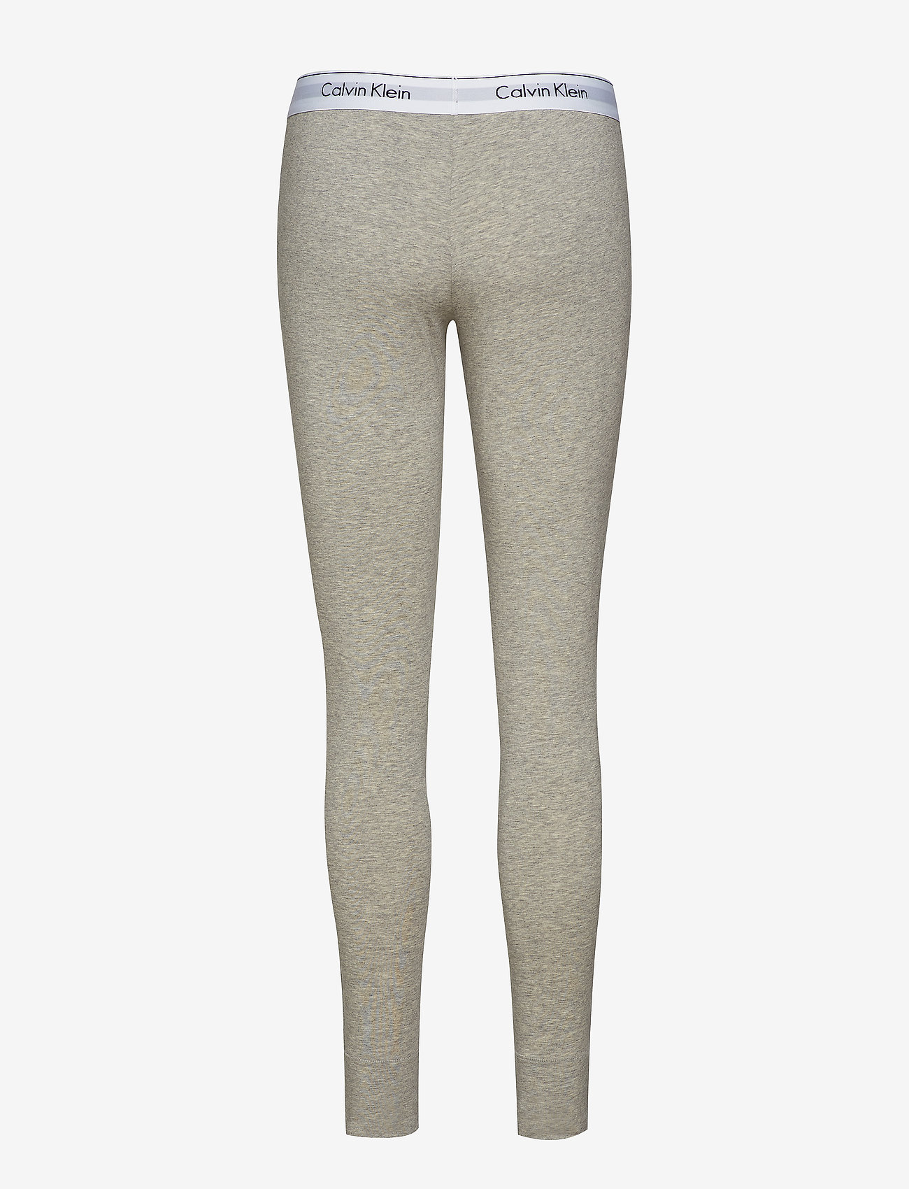 Calvin Klein - LEGGING PANT - doły - grey heather - 1