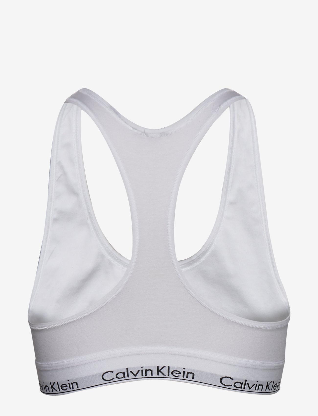 Calvin Klein - BRALETTE - bra without wire - white