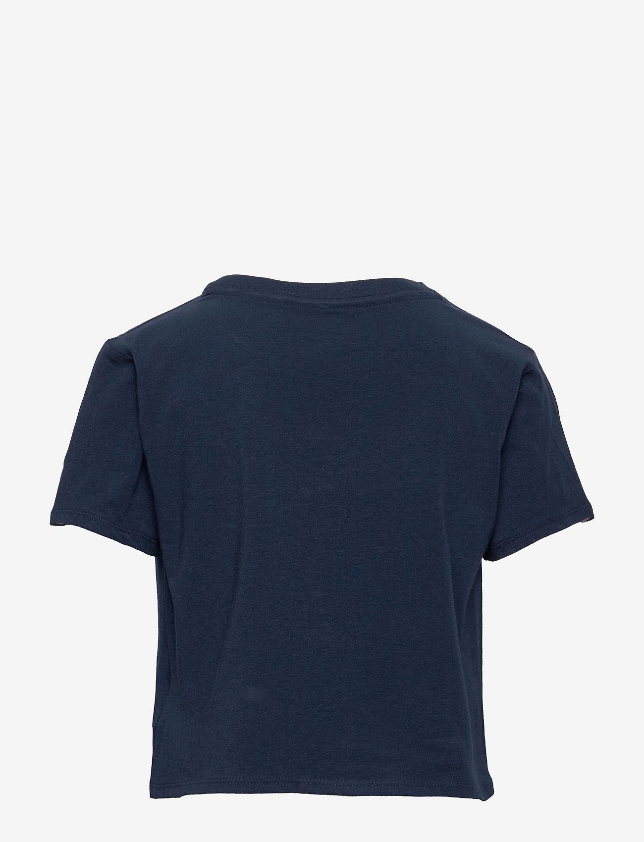 Calvin Klein - TOP - korte mouwen - navy iris - 1