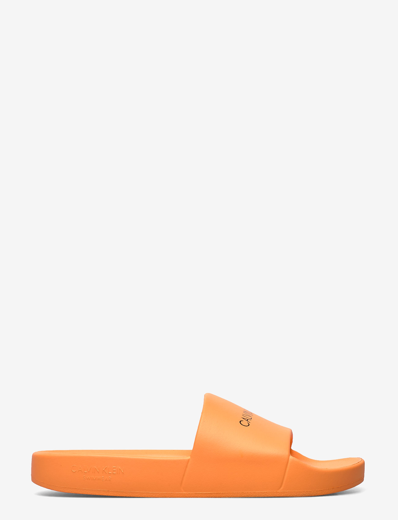 Calvin Klein - SLIDES - pool sliders - orange pop - 1