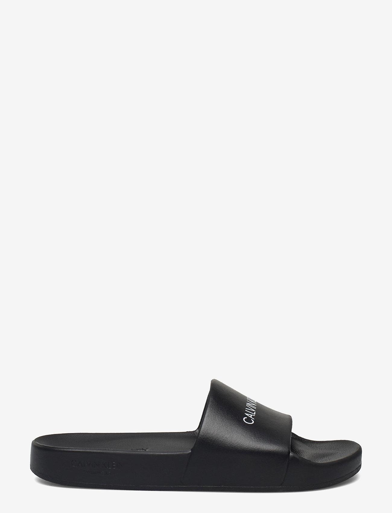 Calvin Klein - ONE MOLD SLIDE - pool sliders - pvh black - 1