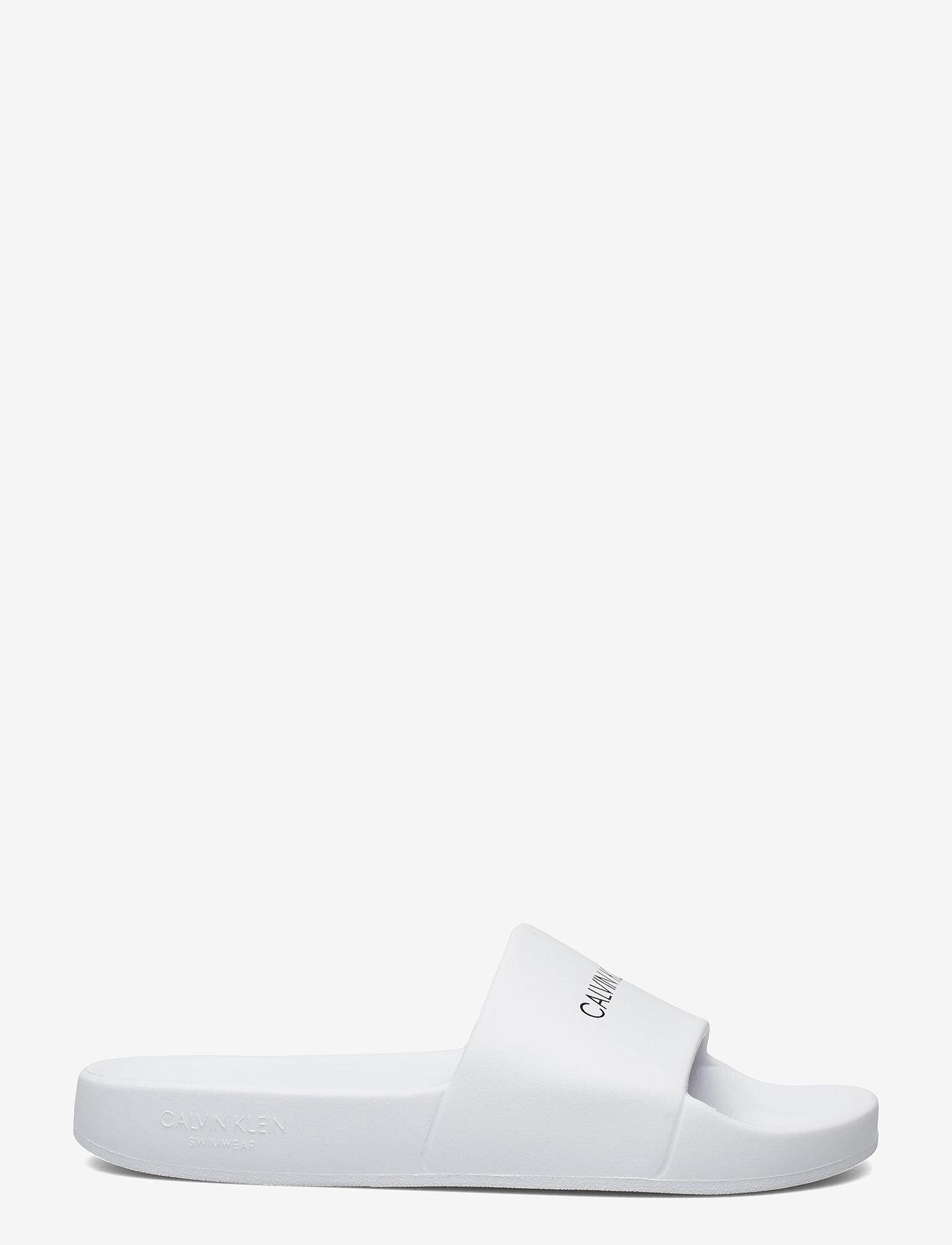 Calvin Klein - ONE MOLD SLIDE - pool sliders - pvh classic white - 1