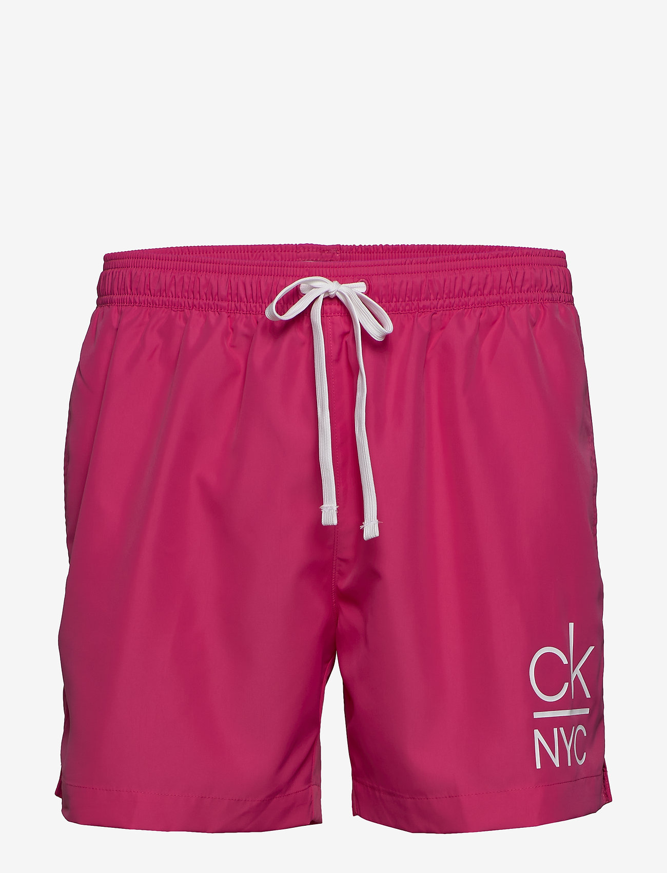 Calvin Klein - MEDIUM DRAWSTRING - badehosen - jewel pink - 0