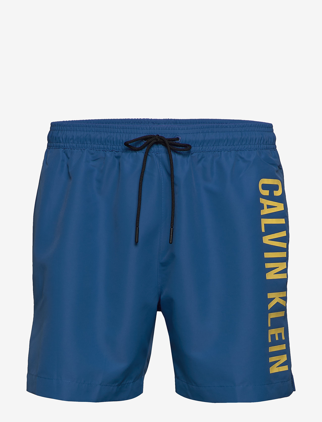 Calvin Klein - MEDIUM DRAWSTRING - badehosen - snorkel blue - 0